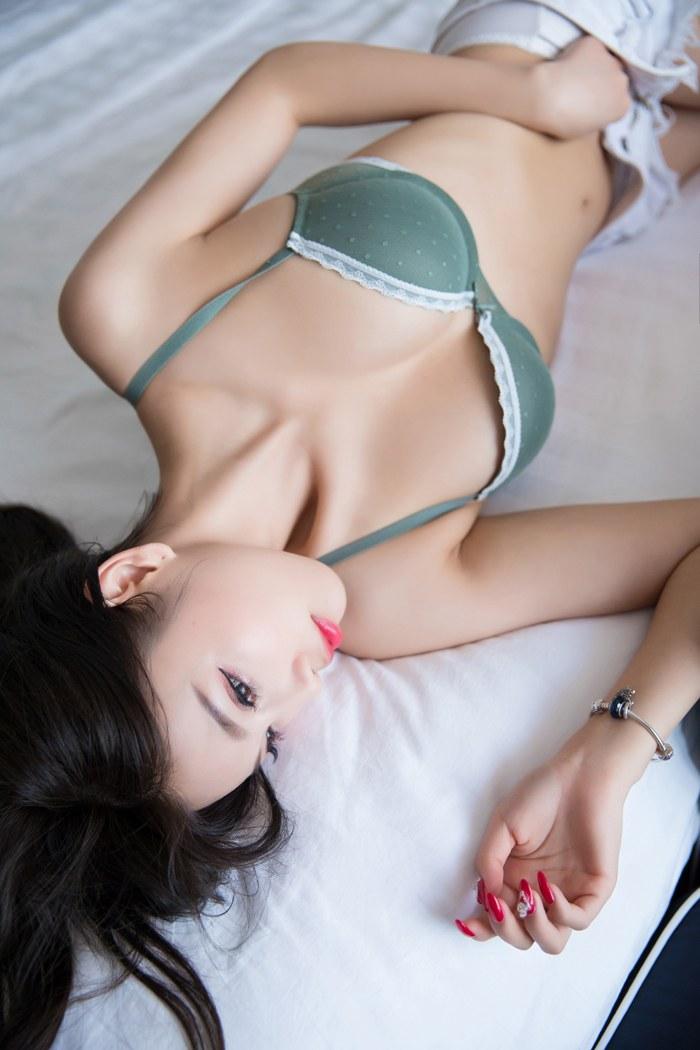 墨绿衣服,女王气质,妩媚动人[20P]