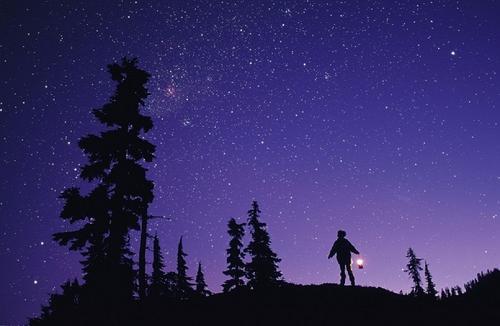 夏夜星空,难道红尘沧桑