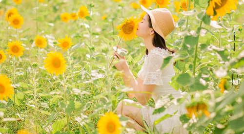 愿你每天醒来,阳光和幸福都在