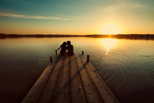 一场优雅的等候就是爱情?